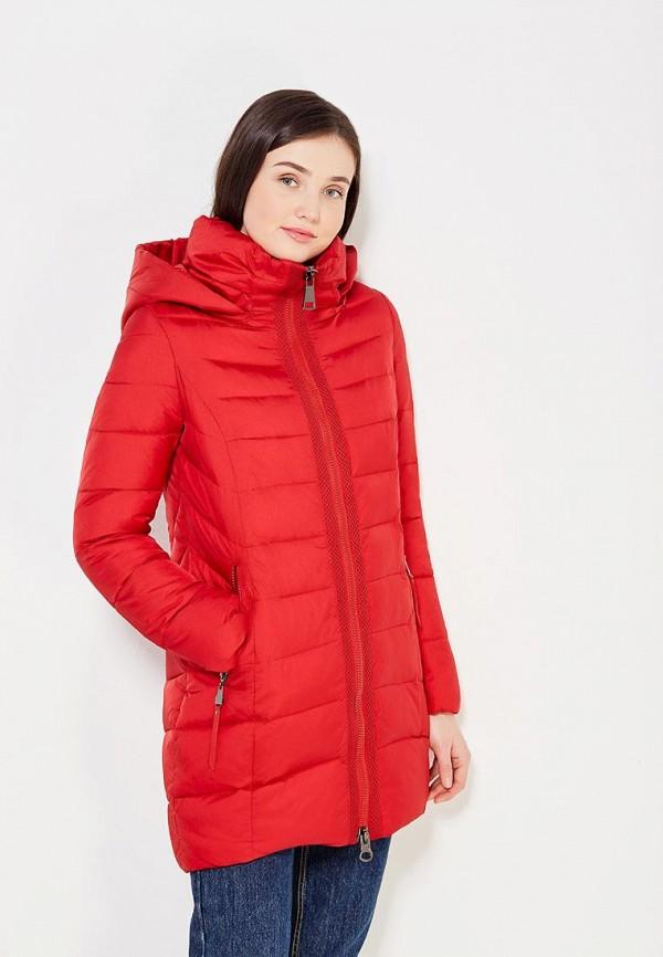Фото - Куртку утепленная Time For Future красного цвета