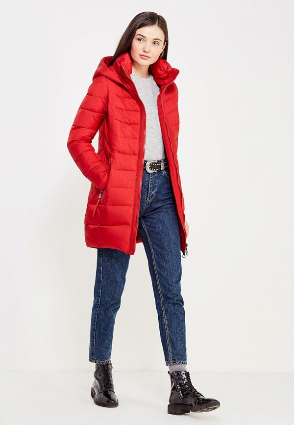 Фото 2 - Куртку утепленная Time For Future красного цвета