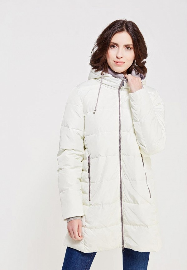 Фото - Куртку утепленная Time For Future белого цвета