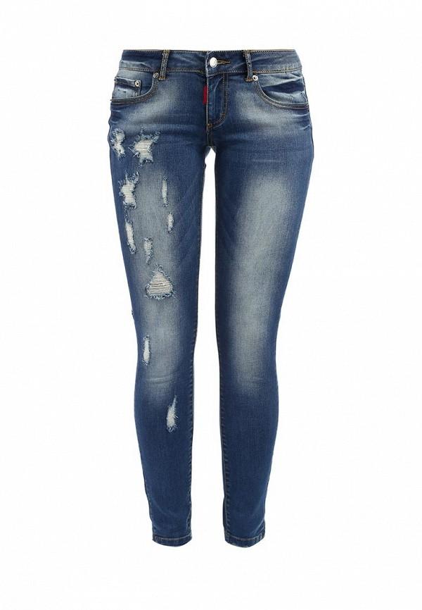 Модные джинсы женские зауженные