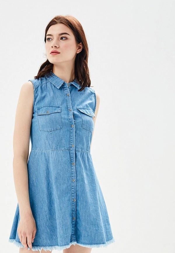 Платье джинсовое Tom Farr Tom Farr TO005EWBFBL7 платье tom farr tom farr to005ewwuv56