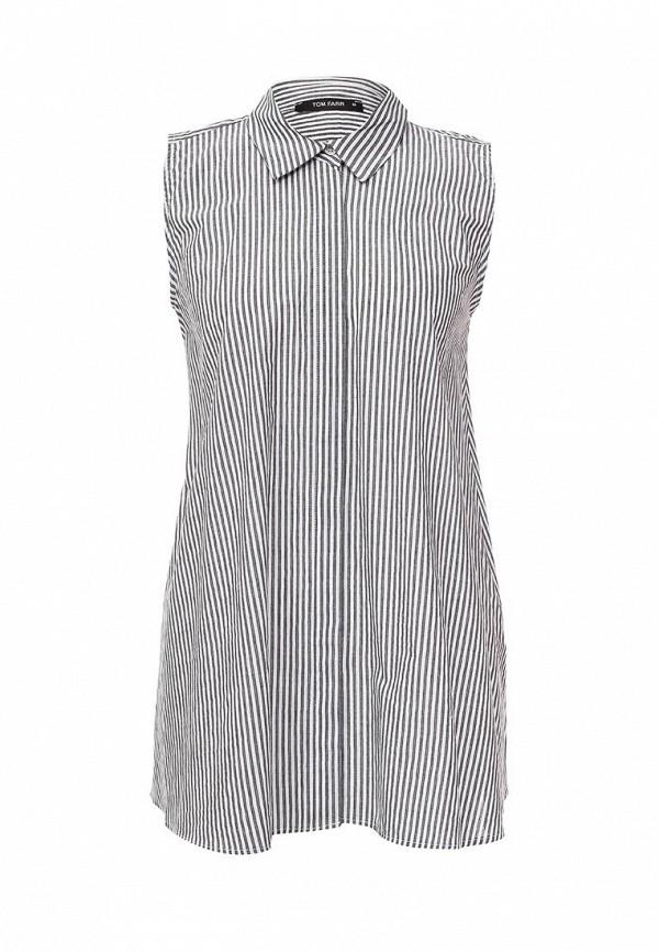 Фото - женскую блузку Tom Farr серого цвета