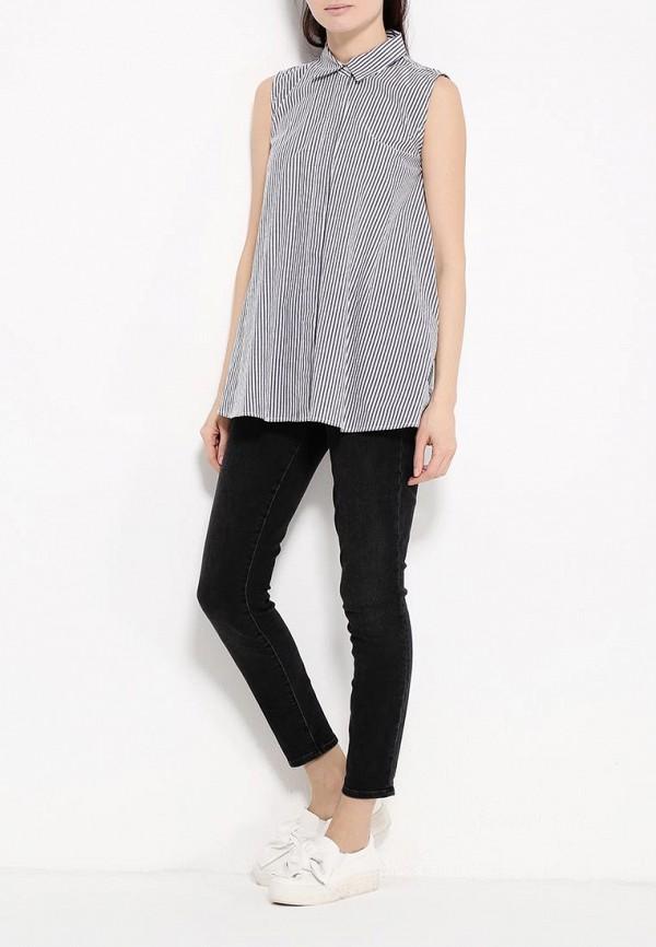 Фото 2 - женскую блузку Tom Farr серого цвета