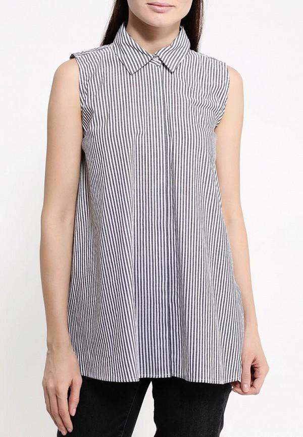 Фото 3 - женскую блузку Tom Farr серого цвета