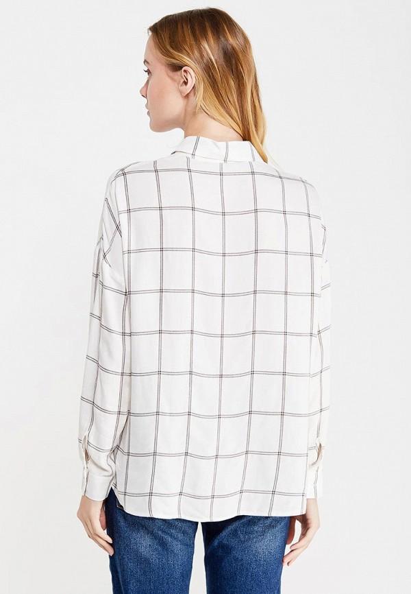 Фото 3 - женскую рубашку Tom Farr белого цвета
