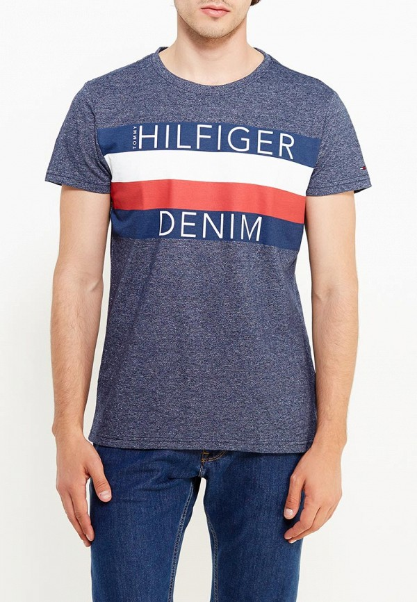Футболка Tommy Hilfiger Denim Tommy Hilfiger Denim TO013EMTOX79 футболка tommy hilfiger denim tommy hilfiger denim to013ewufj70
