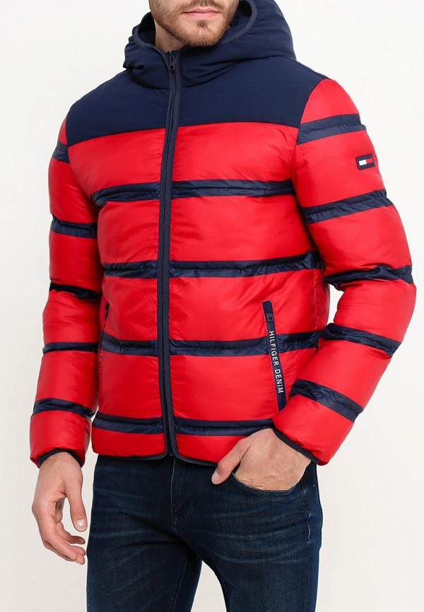 Куртка утепленная Tommy Hilfiger Denim Tommy Hilfiger Denim TO013EMTOX84 футболка tommy hilfiger denim tommy hilfiger denim to013ewtpb98