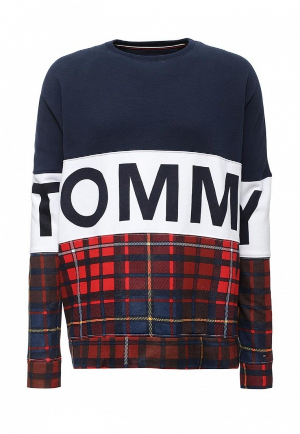 Свитшот Tommy Hilfiger Denim Tommy Hilfiger Denim TO013EMTOY11 футболка tommy hilfiger denim tommy hilfiger denim to013ewtpb98
