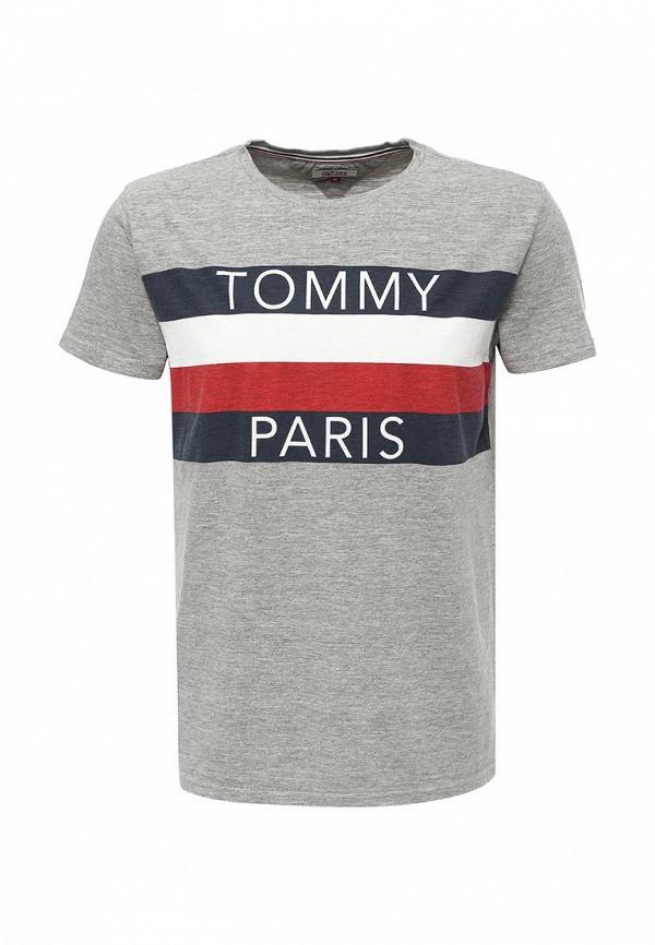 Футболка Tommy Hilfiger Denim Tommy Hilfiger Denim TO013EMTOY23 футболка tommy hilfiger denim tommy hilfiger denim to013emtoz57