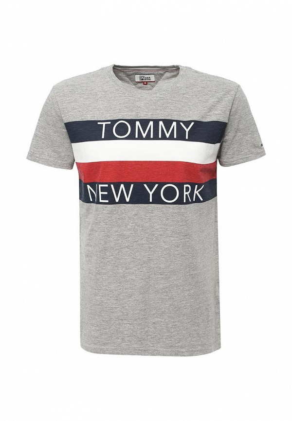 Футболка Tommy Hilfiger Denim Tommy Hilfiger Denim TO013EMTOY24 tommy hilfiger tommy hilfiger to263emhet28