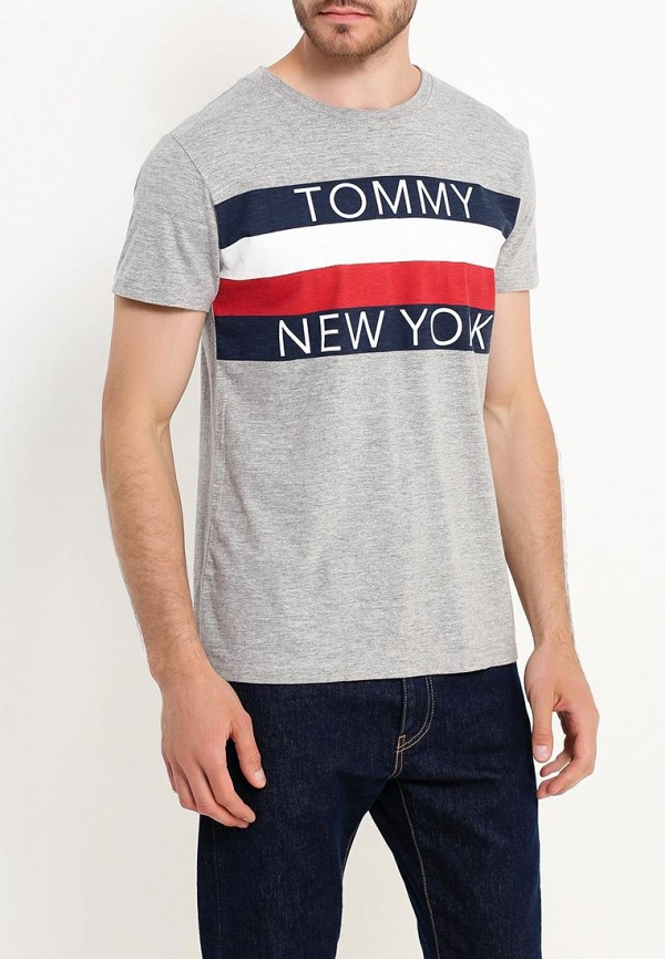 Футболка Tommy Hilfiger Denim Tommy Hilfiger Denim TO013EMTOY24 куртка утепленная tommy hilfiger denim tommy hilfiger denim to013ewufk01