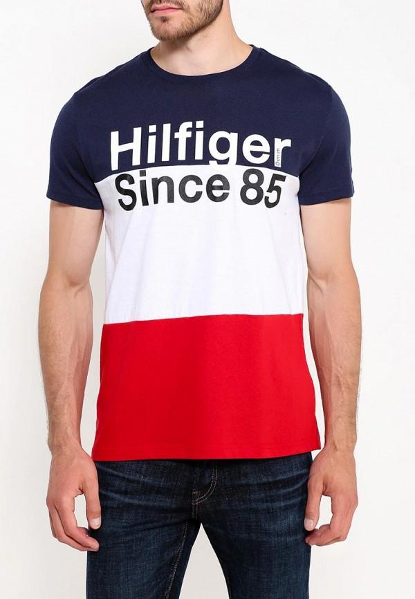 Футболка Tommy Hilfiger Denim Tommy Hilfiger Denim TO013EMTOY48 футболка tommy hilfiger denim tommy hilfiger denim to013emtoz57