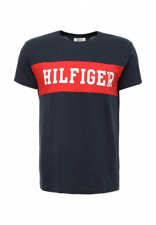 Футболка Tommy Hilfiger Denim Tommy Hilfiger Denim TO013EMTOZ66 tommy hilfiger tommy hilfiger to263emhet28