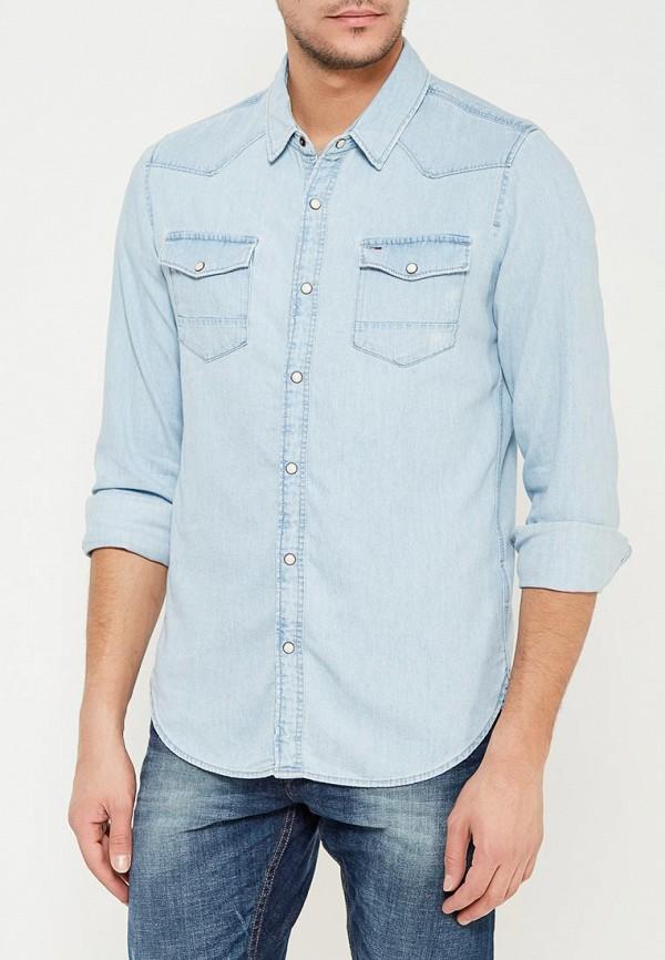 Рубашка джинсовая Tommy Jeans Tommy Jeans TO013EMYZS76 поло tommy jeans tommy jeans to052ewaijb4