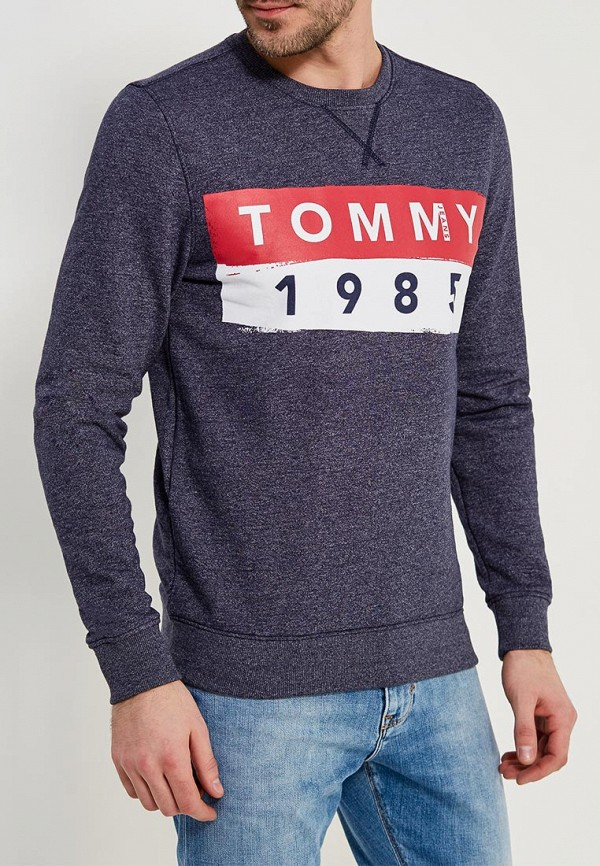 Свитшот Tommy Jeans Tommy Jeans TO013EMYZS92 шорты для плавания tommy jeans tommy jeans to052emaiii4