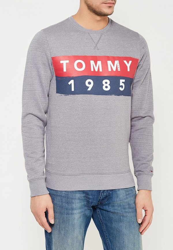 Свитшот Tommy Jeans Tommy Jeans TO013EMYZS93 шорты для плавания tommy jeans tommy jeans to052emaiii4