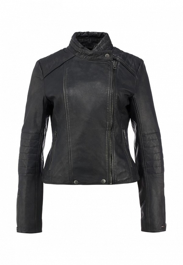 Кожаная куртка TommyHilfigerDenim 1657662898