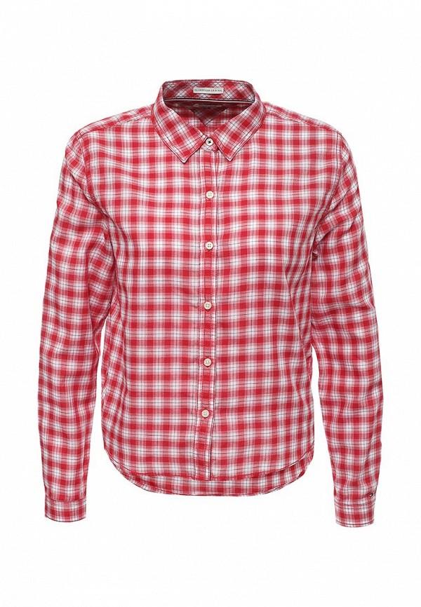 Рубашка Tommy Hilfiger Denim Tommy Hilfiger Denim TO013EWPRG62 рубашка tommy hilfiger denim