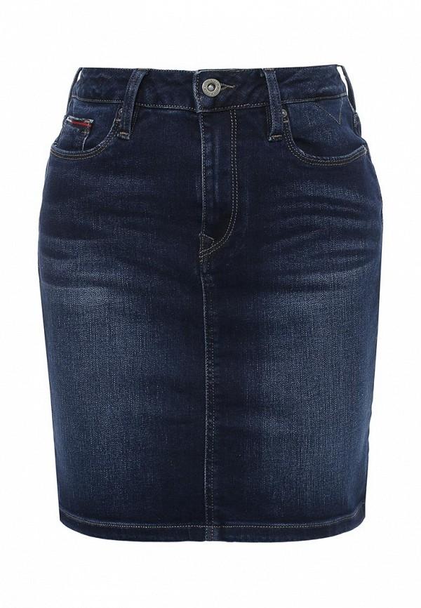 Юбка джинсовая Tommy Hilfiger Denim DW0DW01960
