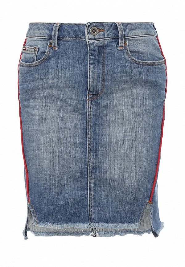 Мини-юбка Tommy Hilfiger Denim DW0DW01961