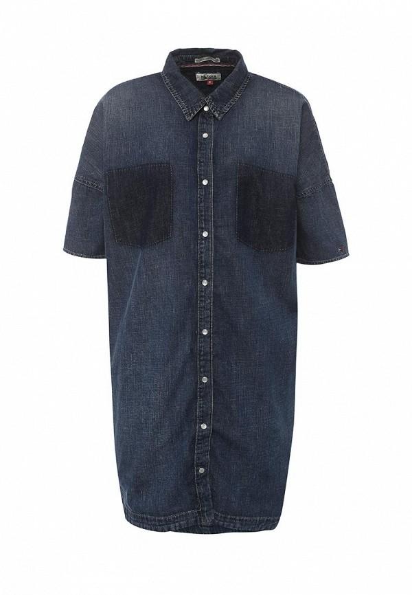 Платье джинсовое Tommy Hilfiger Denim Tommy Hilfiger Denim TO013EWPRH06 tommy hilfiger to263awkgq50