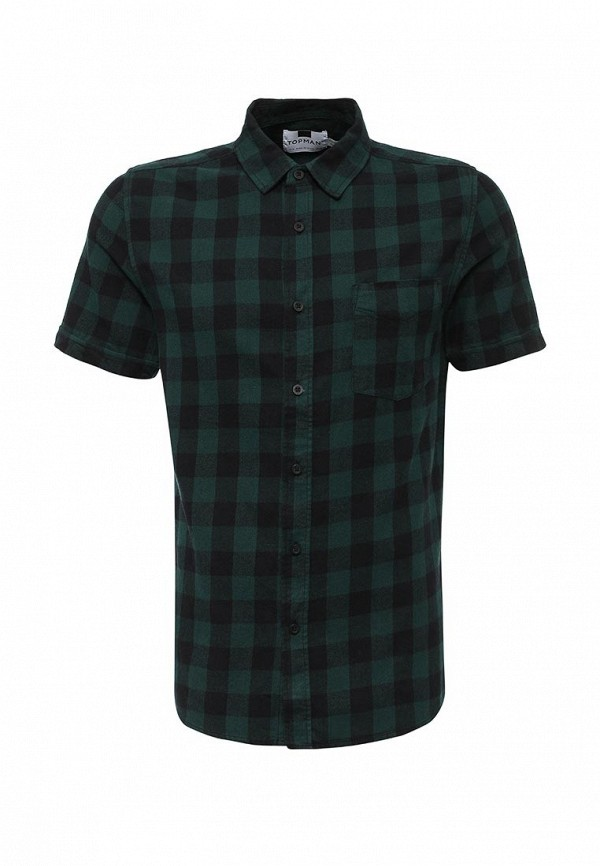 Рубашка с коротким рукавом Topman (Топмэн) 83A12LGRN