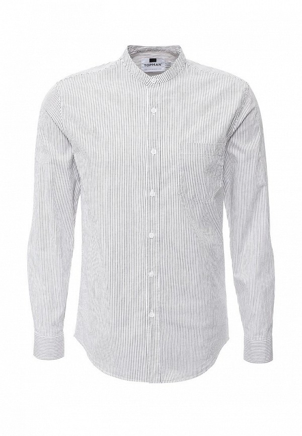 Рубашка с длинным рукавом Topman (Топмэн) 83U06LWHT
