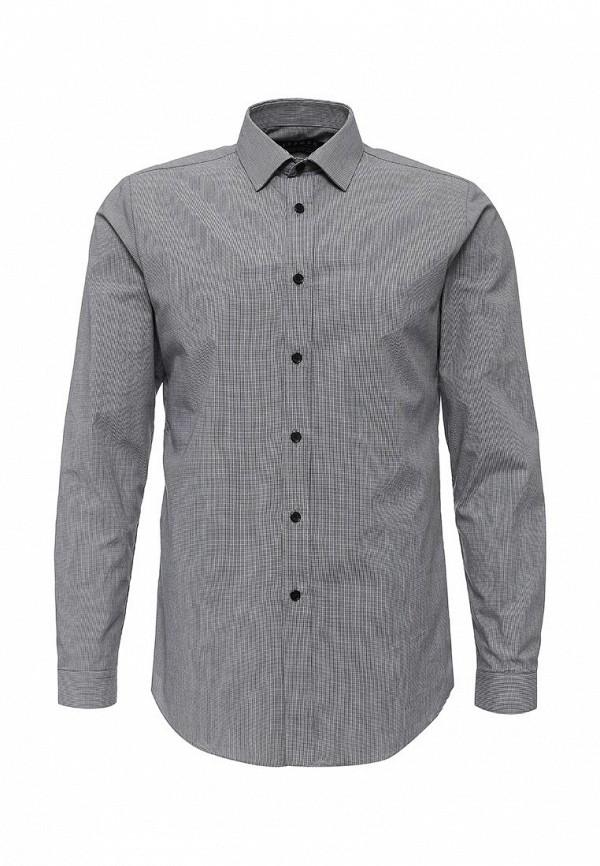 Рубашка с длинным рукавом Topman 84L05MBLK