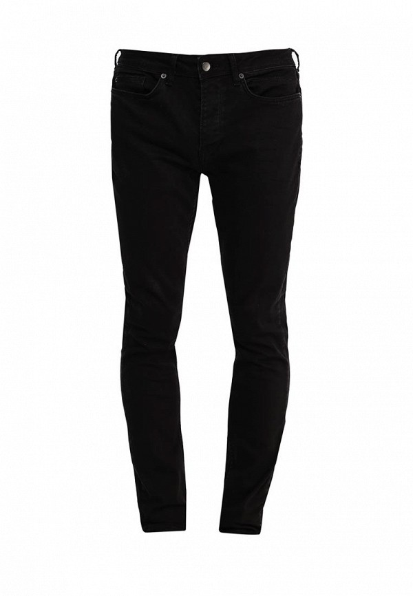 Зауженные джинсы Topman (Топмэн) 69B02MBLK