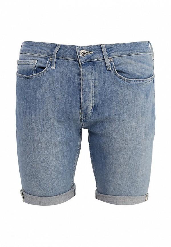 Мужские джинсовые шорты Topman (Топмэн) 33D27LBLE
