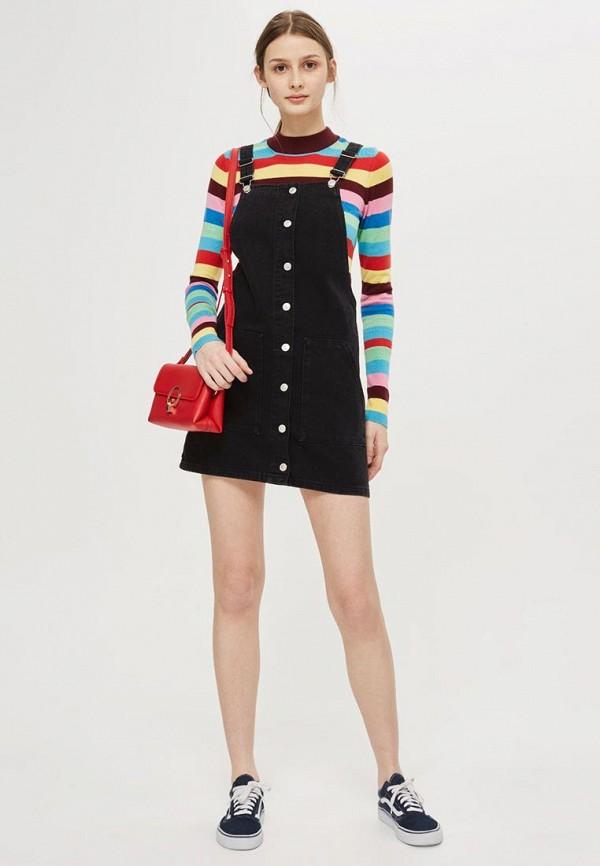 Платье джинсовое Topshop Topshop TO029EWALTM1 платье topshop topshop to029ewtqz01