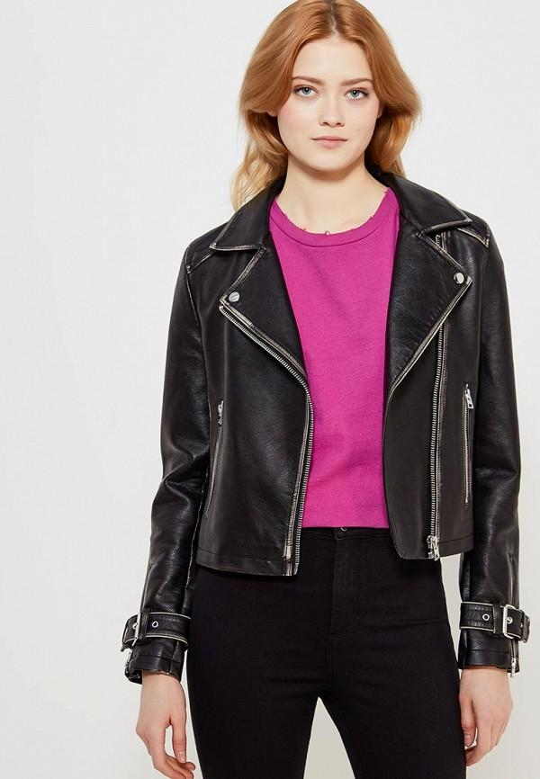 Куртка кожаная Topshop Topshop TO029EWALTP9 куртка topshop topshop to029ewqzz86