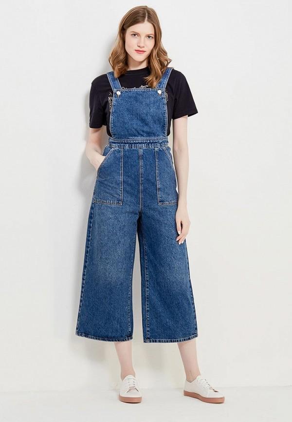 Комбинезон джинсовый Topshop Topshop TO029EWANMM5 комбинезон джинсовый синий ido ут 00011963