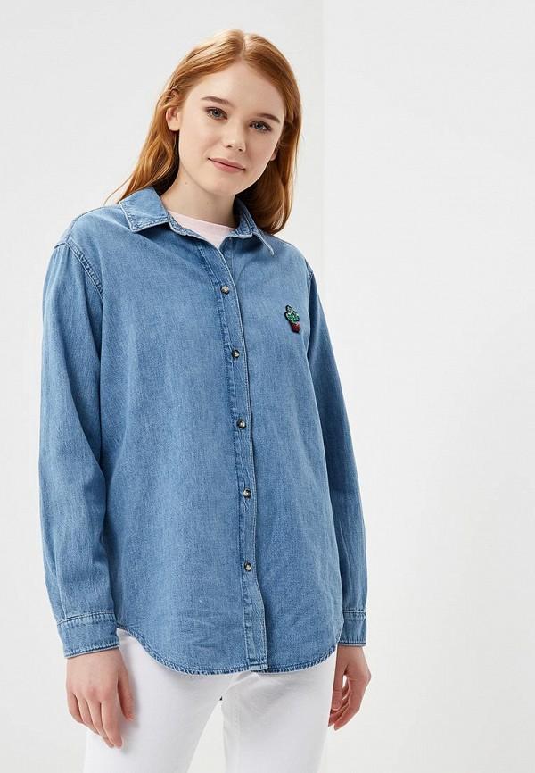 Рубашка джинсовая Topshop Topshop TO029EWAPRZ6 at p co рубашка джинсовая атипико franciacpb33 0915 синий 42