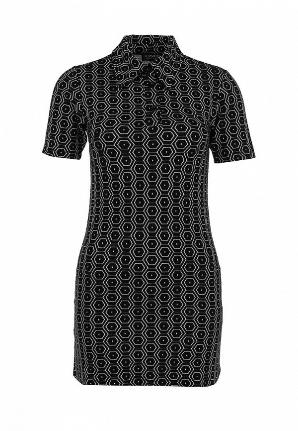 Платье-мини Topshop 04H10HBLK