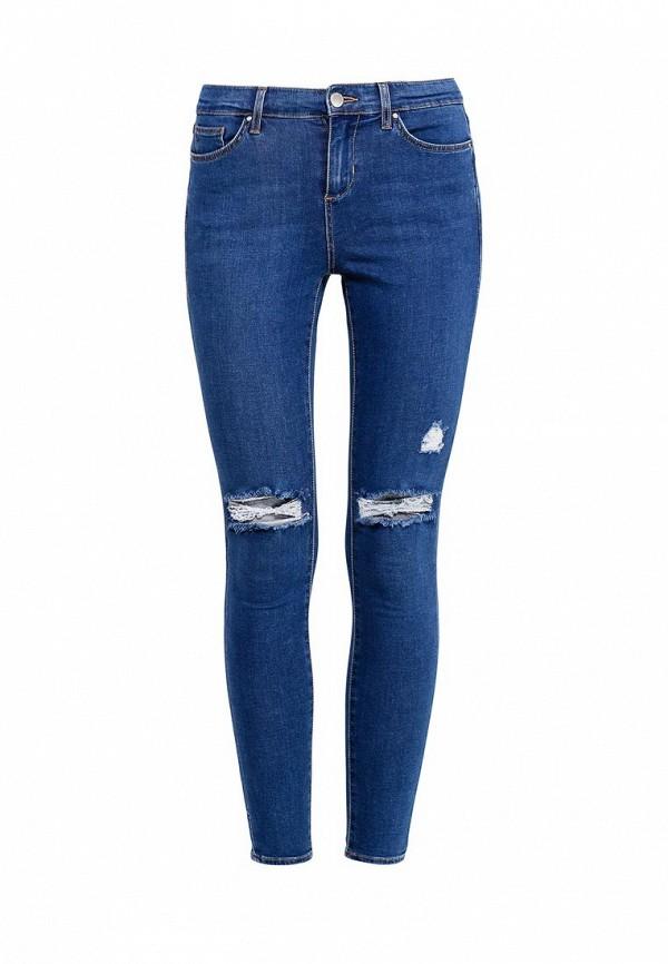 Зауженные джинсы Topshop (Топ Шоп) 02L19IMDT
