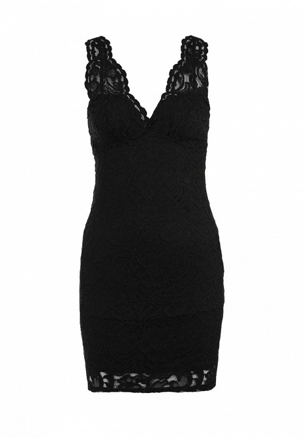 Платье-мини Topshop 04H07IBLK