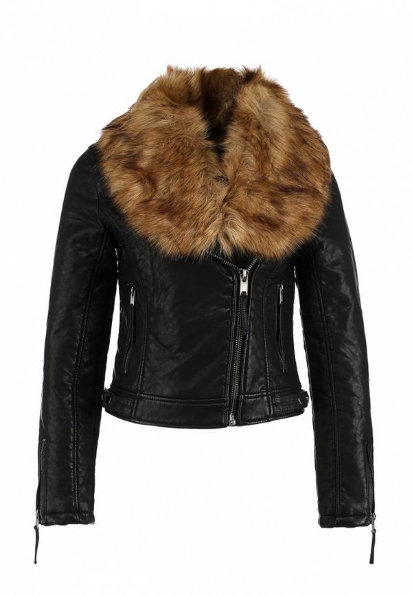 Кожаная куртка Topshop (Топ Шоп) 11P16IBLK