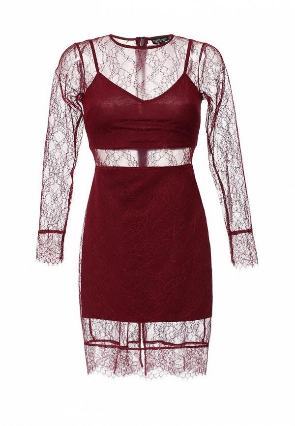 Платье-миди Topshop 35L64IBER