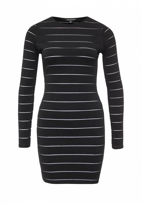 Платье-мини Topshop 35B17JBLK