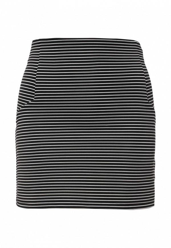 Прямая юбка Topshop 27J01JBLK