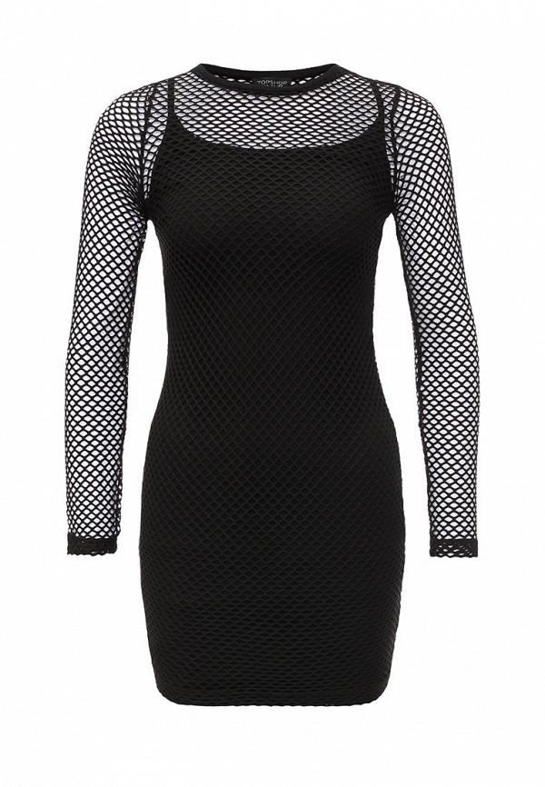 Платье-мини Topshop (Топ Шоп) 10J45JBLK