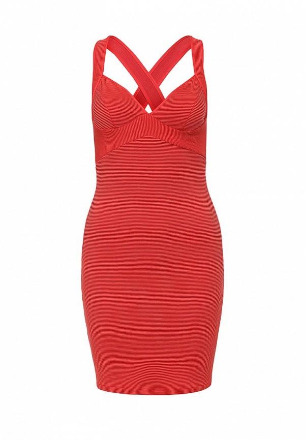 Платье-мини Topshop (Топ Шоп) 35B20JRED