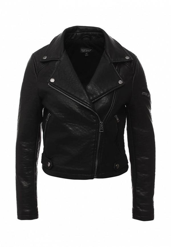 Кожаная куртка Topshop (Топ Шоп) 11P10JBLK