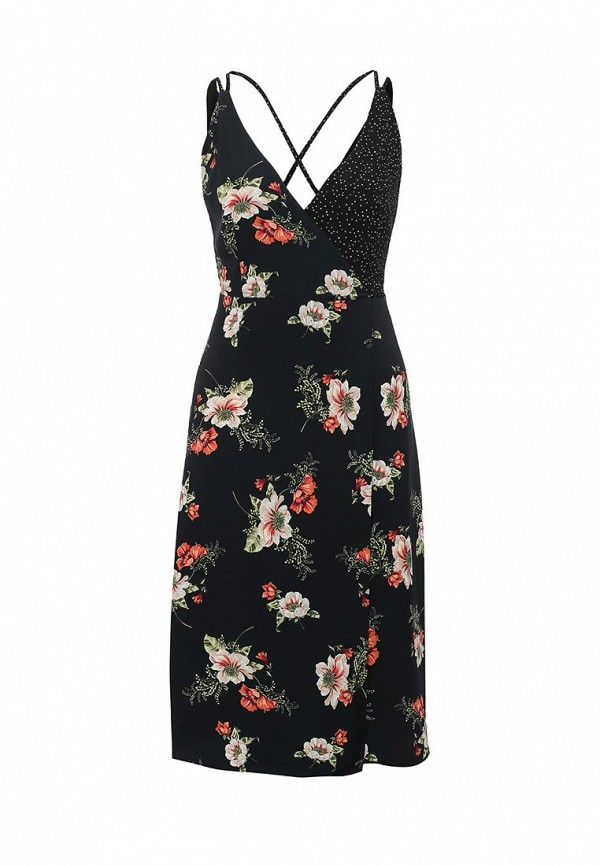 Платье-миди Topshop (Топ Шоп) 10P15JBLK