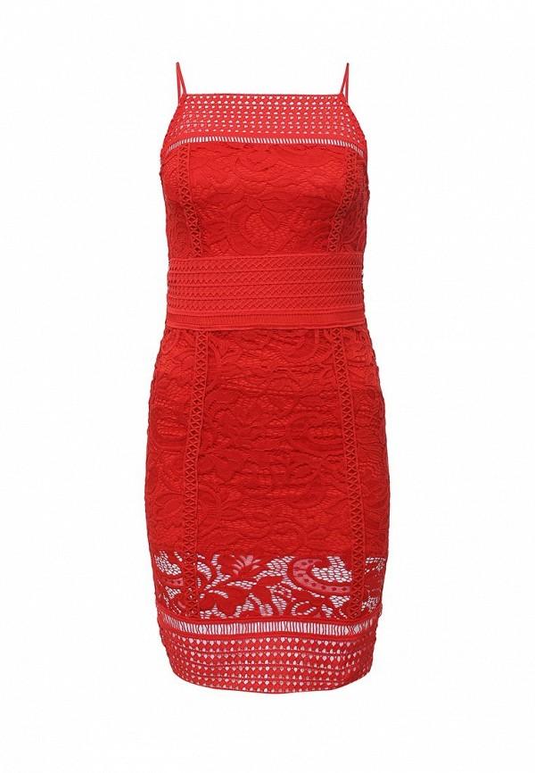Платье-мини Topshop (Топ Шоп) 35L11JRED
