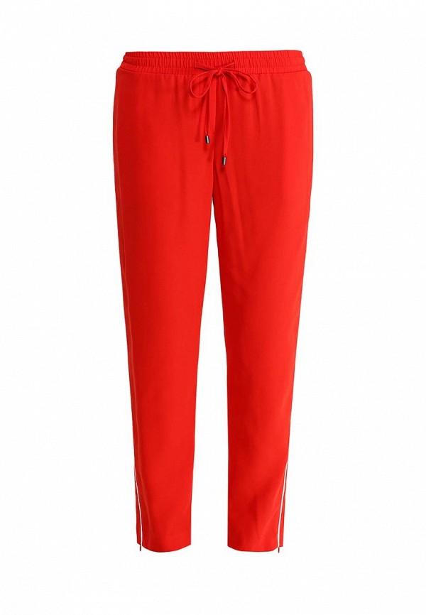 Женские зауженные брюки Topshop 36G01JRED