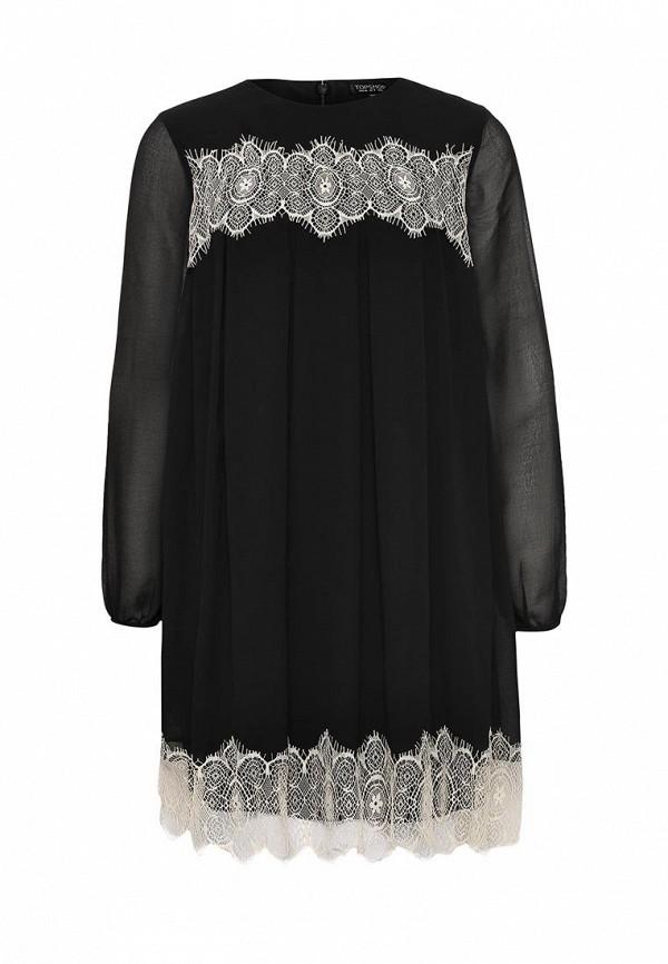 Платье-мини Topshop (Топ Шоп) 10K02JBLK