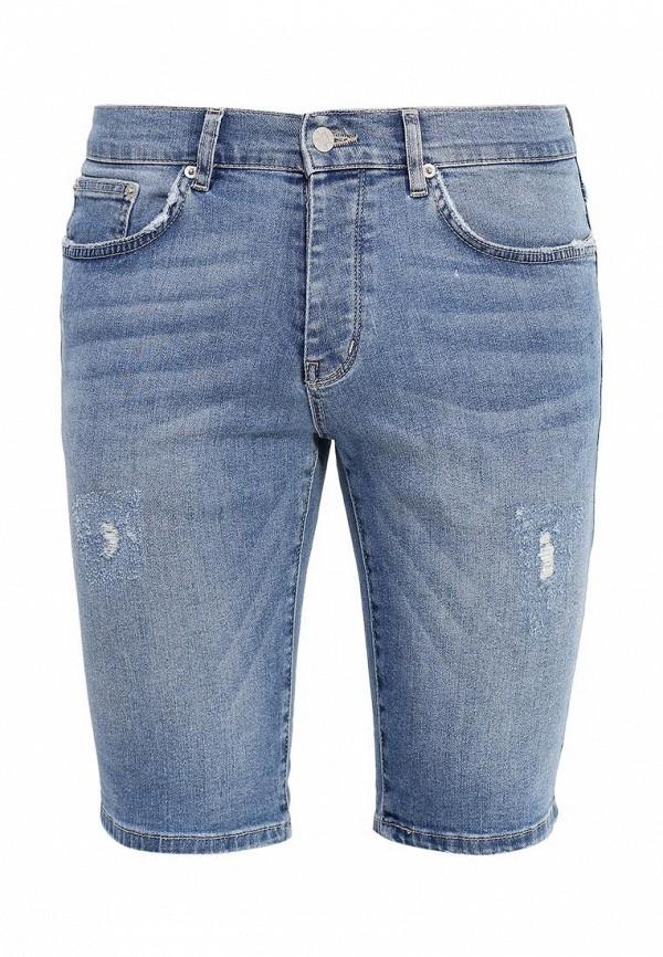Мужские джинсовые шорты Topman (Топмэн) 33D40LLBL