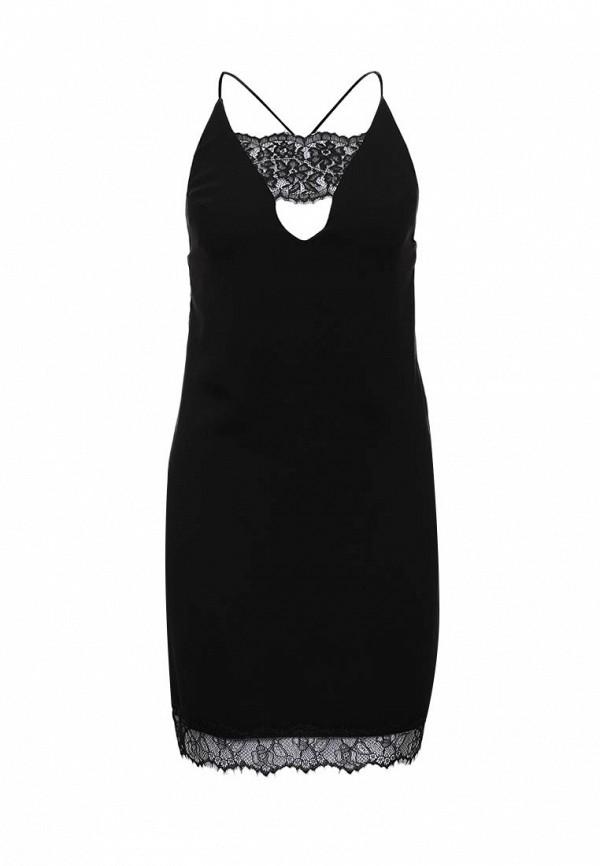 Платье-мини Topshop (Топ Шоп) 35W22JBLK